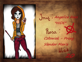TKA: Angelica *HIDE* Raes by AngieTheShyGirl