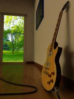 Gibson Les Paul Standard Amber by All-Nothing