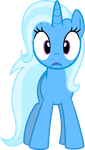 Dumbfounded Trixie by KeronianNiroro