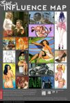 Biker's influence map by Bikerbloke