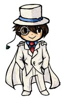 Kaito KID - Wind Waker Style by Ardhes
