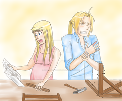 Building a Crib by Perfectlykawaii93