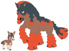 Mudbray and Mudsdale Base
