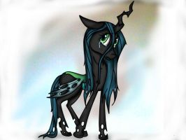 [MLP:FIM]- Queen Chrysalis by FlutterKiller