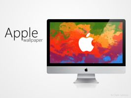 Apple wallpaper by darkjamess
