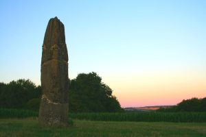 Menhir in the summer by CD-STOCK