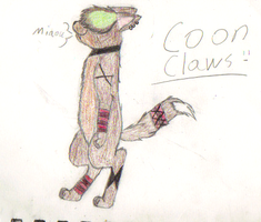 Coonclaws awesomeness colored by jetlage300