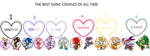 the best sonic couples by SHADOWSHAUN200