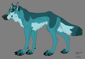 Another Blue Wolfy by Hawaiifan