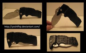 How to make: Izaya's Knife by YoshiFHP