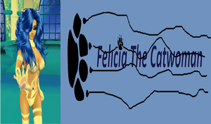 Felicia Logo by dragonzero1980