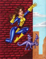 Shadowcat Commission by em-scribbles