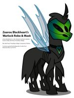 ZB's Warlock Robe and Mask, 3QF by ZearouAyedea