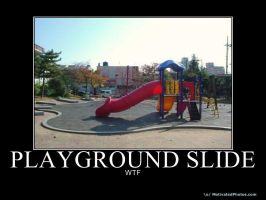 The Wtf Playground Slide :D by SniperWaffles