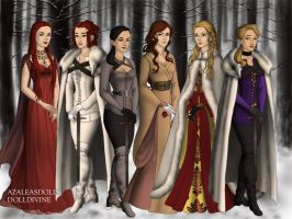 Game of Thrones Ladies Pt.2 by BlackRoseOfSummer