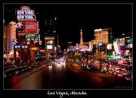 Las Vegas, Nevada by Frall