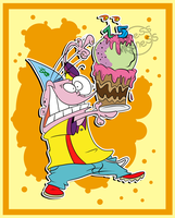 Happy 15th Birthday Ed, Edd n Eddy! by Edness-Madness