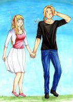 [FMA] Take your lover out for a walk on Sunday by ButterflyAlchemist