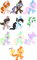 Pony Adopts 9 -closed- by Sinful-Moon-Adopts