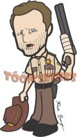 Rick Grimes - The Walking Dead by toonseries