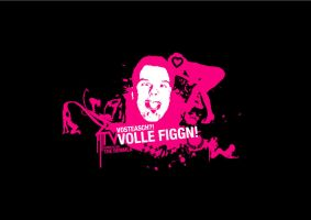 t-shirtdesig.volle figgn by loosy