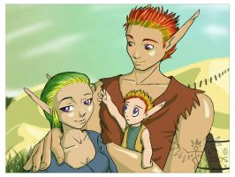 Family Photo: Orrin by washipuppy