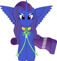 Super Cupix and Rarity by GeoNine