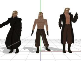 liquid snake + DL by sky-commander