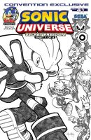 Sonic Universe #41 Convention Cover by RocketSonic