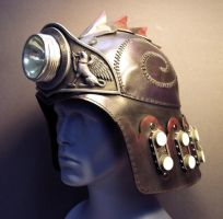 Defender Helm with Lamp by TomBanwell