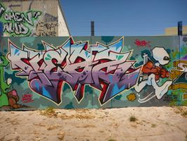 Teazer by PerthGraffScene