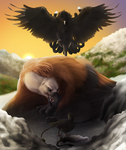 Gryph Attack - Winter is Coming by OkamiWhitewings