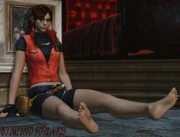 Claire Redfield by MintoFoularis