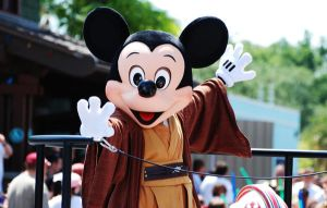 Jedi Mickey by CaitrinXlXAnneliese