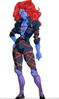 Mystique - Age of Apocalypse by vangell