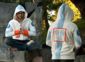 Air Nomad / Avatar Hoodie / Sweatshirt by Lisa-Lou-Who