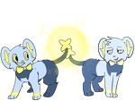 Art Trade~Team Shinxters (Transparent) by FailureGirl