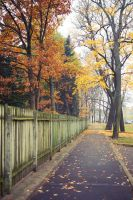 Autumn near Botanic Garden by SmileyG