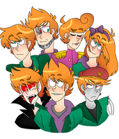 The Ginger Party by Chioco