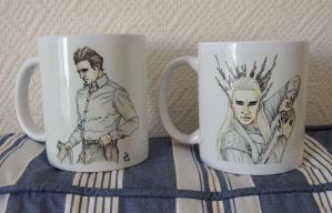 Lovelee Mugs [Lee Pace] by AloiInTheSky