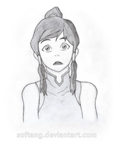 Legend of Korra: My pencil drawing by Sergey-Kun