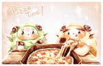 Pizza Time !! by Haeruh