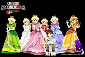 Princess Peach MMD by chatterHEAD