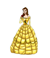 Belle WIP by FalseDisposition