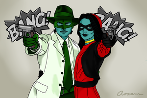 Bonnie and Clyde by Aozame32