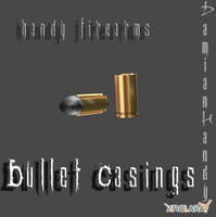 Handgun Bullet Casings by DamianHandy