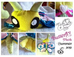 Butterfly Plushy by Saborcat