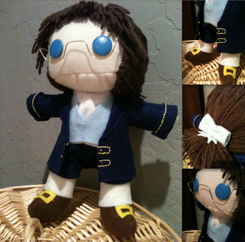 Commission: Lenny Plushie Complete! by SuperiorMushroom