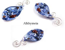 VegetAria in Blue, back side by Alkhymeia