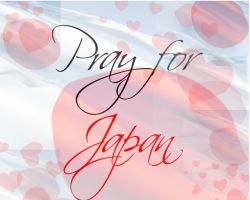 Pray for Japan by Lillgoban